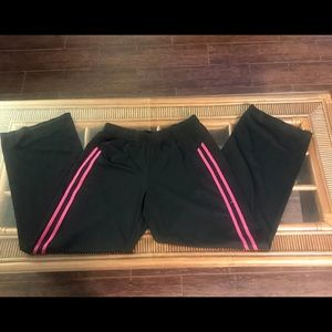Champion Activewear Pant Size Medium Black & Pink
